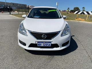 2016 Nissan Pulsar C12 Series 2 ST White Continuous Variable Hatchback.