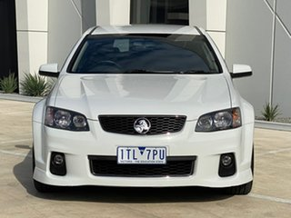 2012 Holden Commodore VE II MY12 SS Sportwagon White 6 Speed Manual Wagon.