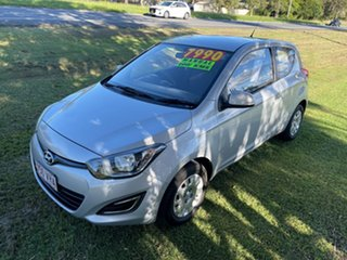 2013 Hyundai i20 PB MY13 Active 6 Speed Manual Hatchback.