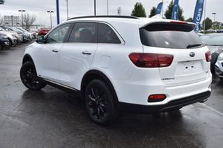 2020 Kia Sorento UM MY20 Black Edition AWD White 8 Speed Sports Automatic Wagon.