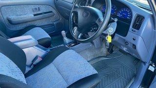 2003 Toyota Hilux MY03 SR5 (4x4) Black 5 Speed Automatic Dual Cab
