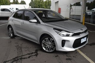 2019 Kia Rio YB MY20 Sport Silver 6 Speed Automatic Hatchback.