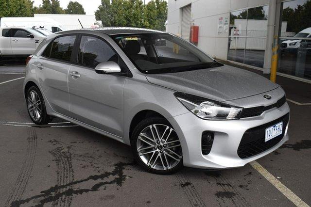 Used Kia Rio YB MY20 Sport Essendon Fields, 2019 Kia Rio YB MY20 Sport Silver 6 Speed Automatic Hatchback