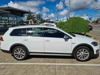 2018 Volkswagen Golf 7.5 MY19 Alltrack DSG 4MOTION 132TSI White 6 Speed Sports Automatic Dual Clutch.