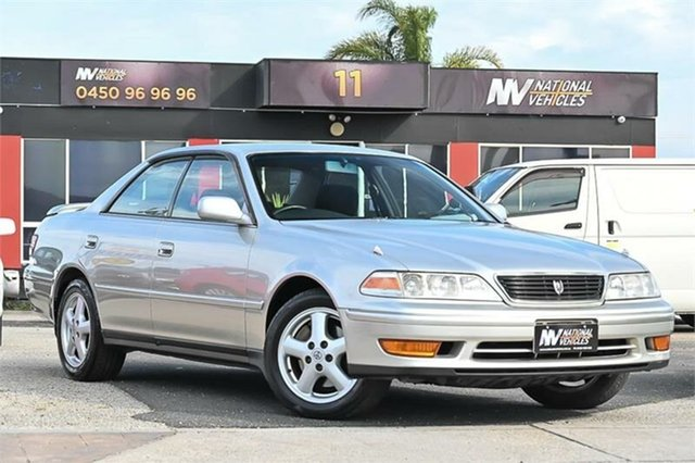 Used Toyota Mark II JZX100 Cheltenham, 1999 Toyota Mark II JZX100 Silver Automatic Sedan
