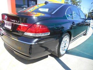 2006 BMW 7 Series E66 740Li Steptronic Black 6 Speed Sports Automatic Sedan