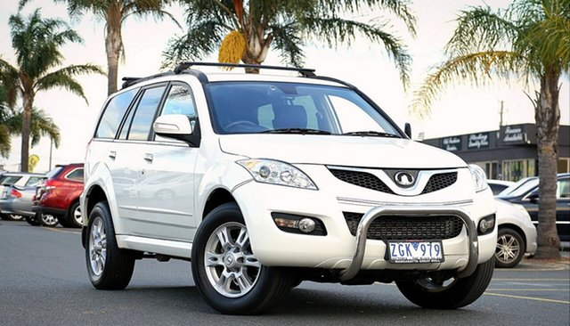 Used Great Wall X200 K2 MY12 Cheltenham, 2012 Great Wall X200 K2 MY12 White 5 Speed Automatic Wagon
