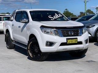 2016 Nissan Navara D23 ST 4x2 White 7 Speed Sports Automatic Utility.