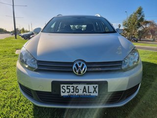 2011 Volkswagen Golf VI MY11 118TSI DSG Comfortline Silver Leaf Metallic/black Clo 7 Speed