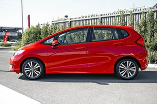 2015 Honda Jazz GF MY15 VTi-S Red 1 Speed Constant Variable Hatchback.
