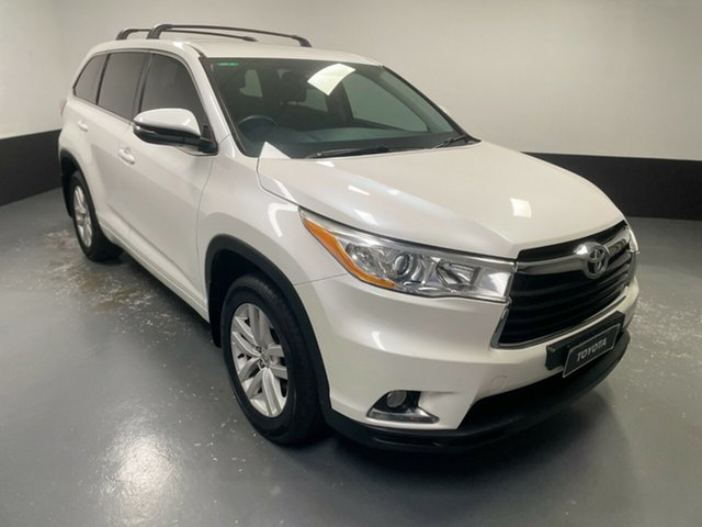 Used Toyota Kluger GSU55R GX AWD Rutherford, 2014 Toyota Kluger GSU55R GX AWD White 6 Speed Sports Automatic Wagon