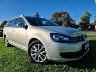 2011 Volkswagen Golf VI MY11 118TSI DSG Comfortline Silver Leaf Metallic/black Clo 7 Speed.