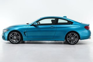 2019 BMW 4 Series F32 LCI 420i M Sport Blue 8 Speed Sports Automatic Coupe
