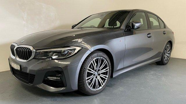 Demo BMW 3 Series G20 320i Steptronic M Sport Newcastle West, 2020 BMW 3 Series G20 320i Steptronic M Sport Mineral Grey 8 Speed Sports Automatic Sedan