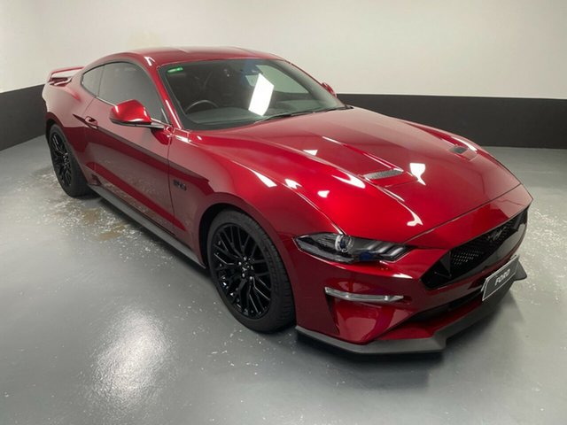 Used Ford Mustang FN 2019MY GT Hamilton, 2018 Ford Mustang FN 2019MY GT Ruby Red 10 Speed Sports Automatic Fastback