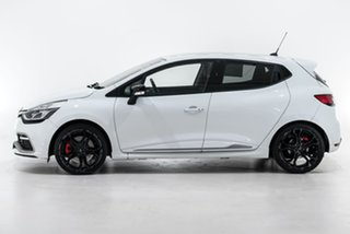 2014 Renault Clio IV B98 R.S. 200 EDC Cup White 6 Speed Sports Automatic Dual Clutch Hatchback