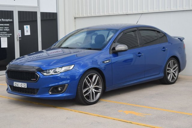 Used Ford Falcon FG X XR6 Turbo Rutherford, 2015 Ford Falcon FG X XR6 Turbo Blue 6 Speed Manual Sedan