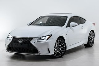 2017 Lexus RC ASC10R RC200t F Sport White 8 Speed Sports Automatic Coupe.