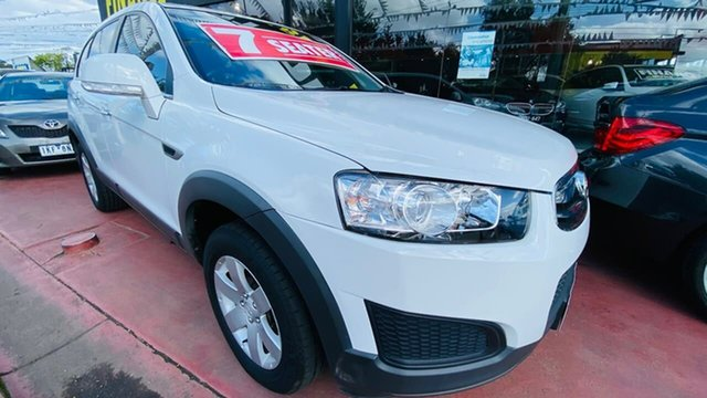 Used Holden Captiva CG MY14 7 LS Maidstone, 2014 Holden Captiva CG MY14 7 LS White 6 Speed Sports Automatic Wagon