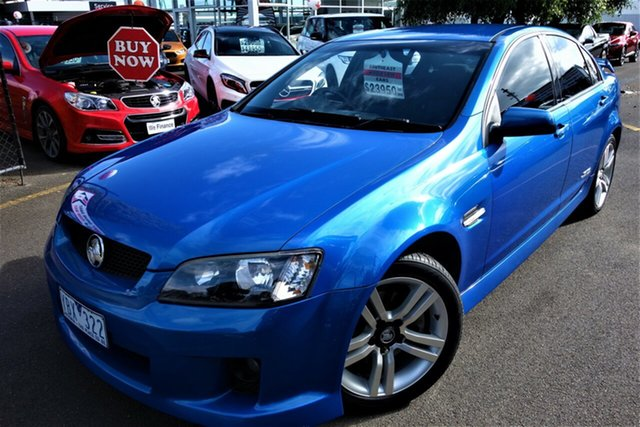 Used Holden Commodore VE MY09.5 SS Seaford, 2009 Holden Commodore VE MY09.5 SS Blue 6 Speed Sports Automatic Sedan