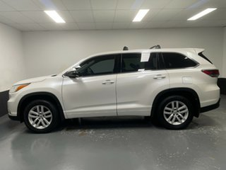 2014 Toyota Kluger GSU55R GX AWD White 6 Speed Sports Automatic Wagon