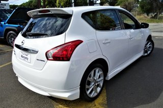 2014 Nissan Pulsar C12 SSS White 6 Speed Manual Hatchback.