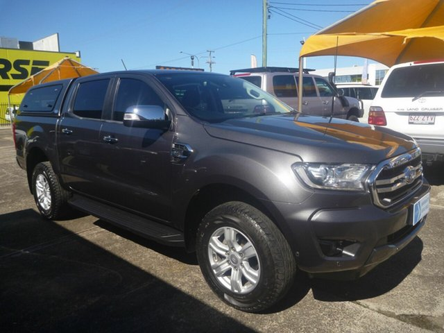 Used Ford Ranger PX MkIII 2019.00MY XLT Morayfield, 2018 Ford Ranger PX MkIII 2019.00MY XLT Grey 6 Speed Sports Automatic Utility