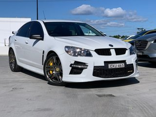 2015 Holden Special Vehicles GTS Gen-F MY15 White 6 Speed Sports Automatic Sedan.
