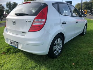 2011 Hyundai i30 FD MY11 SX White 4 Speed Automatic Hatchback