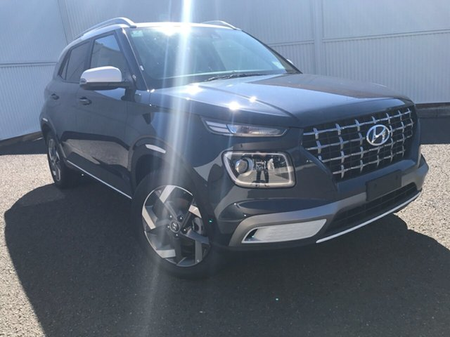 New Hyundai Venue QX.V3 MY21 Elite Gladstone, 2021 Hyundai Venue QX.V3 MY21 Elite 6 Speed Automatic Wagon