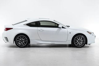 2017 Lexus RC ASC10R RC200t F Sport White 8 Speed Sports Automatic Coupe