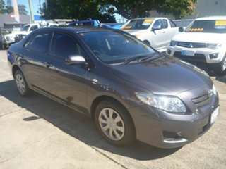 2008 Toyota Corolla ZRE152R Ascent Grey 4 Speed Automatic Sedan.