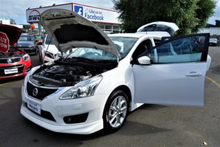 2014 Nissan Pulsar C12 SSS White 6 Speed Manual Hatchback