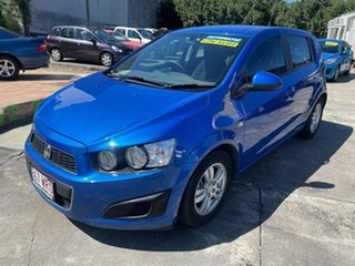 2016 Holden Barina TM MY16 CD Blue 6 Speed Automatic Hatchback.