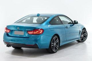 2019 BMW 4 Series F32 LCI 420i M Sport Blue 8 Speed Sports Automatic Coupe.