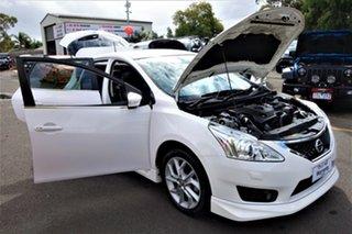 2014 Nissan Pulsar C12 SSS White 6 Speed Manual Hatchback
