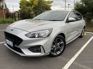 2019 Ford Focus SA 2019.75MY ST-Line Silver 8 Speed Automatic Hatchback