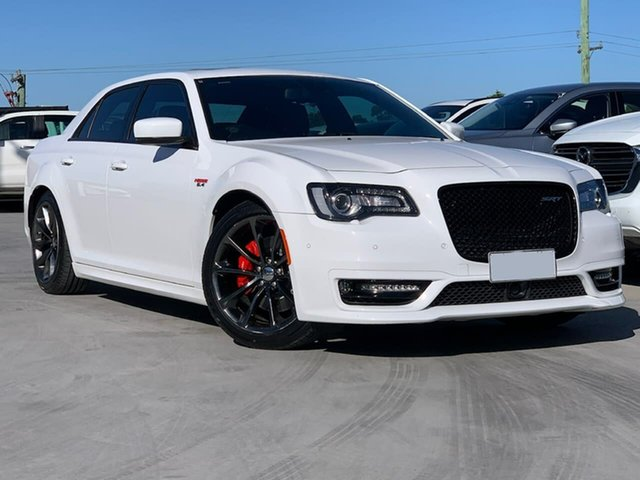 Used Chrysler 300 LX MY17 SRT Hyperblack Liverpool, 2017 Chrysler 300 LX MY17 SRT Hyperblack Bright White 8 Speed Sports Automatic Sedan