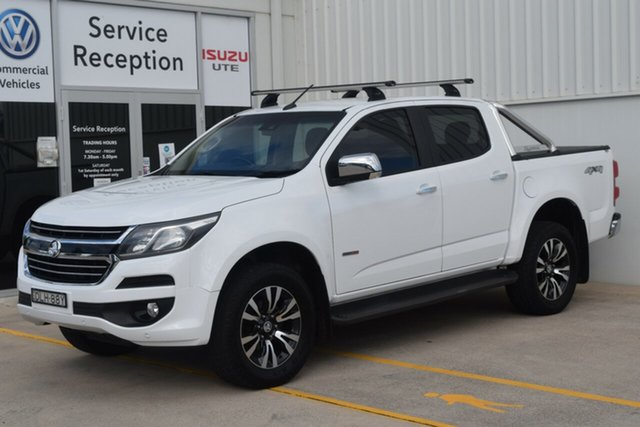 Used Holden Colorado RG MY17 LTZ Pickup Crew Cab Rutherford, 2016 Holden Colorado RG MY17 LTZ Pickup Crew Cab White 6 Speed Sports Automatic Utility