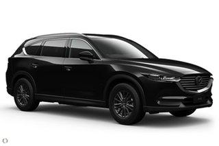 2021 Mazda CX-8 KG2WLA Sport SKYACTIV-Drive FWD Black 6 Speed Sports Automatic Wagon.