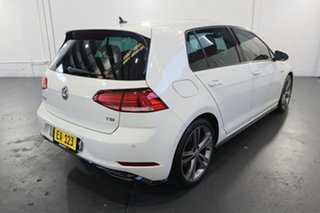 2017 Volkswagen Golf 7.5 MY17 110TSI DSG Highline White 7 Speed Sports Automatic Dual Clutch
