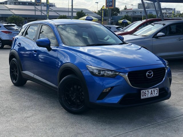 Used Mazda CX-3 DK2W7A Neo SKYACTIV-Drive Chermside, 2016 Mazda CX-3 DK2W7A Neo SKYACTIV-Drive Blue 6 Speed Sports Automatic Wagon