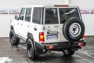 2012 Toyota Landcruiser VDJ76R MY13 Workmate French Vanilla 5 Speed Manual Wagon.