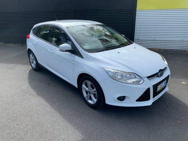 Used Ford Focus LW MkII Trend PwrShift Launceston, 2012 Ford Focus LW MkII Trend PwrShift White 6 Speed Sports Automatic Dual Clutch Hatchback