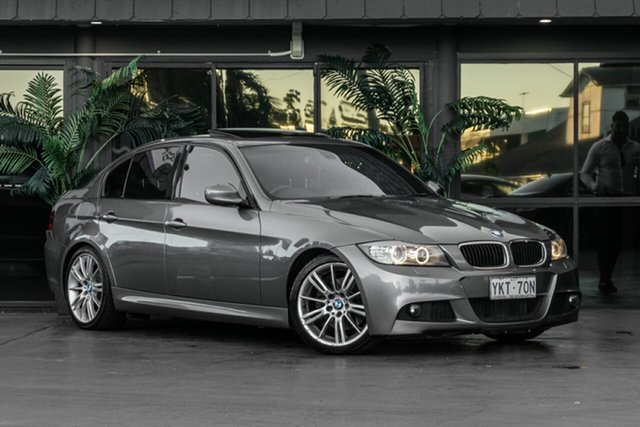 Used BMW 3 Series E90 MY10 320d Steptronic Executive Bowen Hills, 2010 BMW 3 Series E90 MY10 320d Steptronic Executive Grey 6 Speed Sports Automatic Sedan