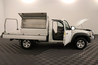 2011 Mazda BT-50 UNY0E4 DX White 5 speed Manual Cab Chassis