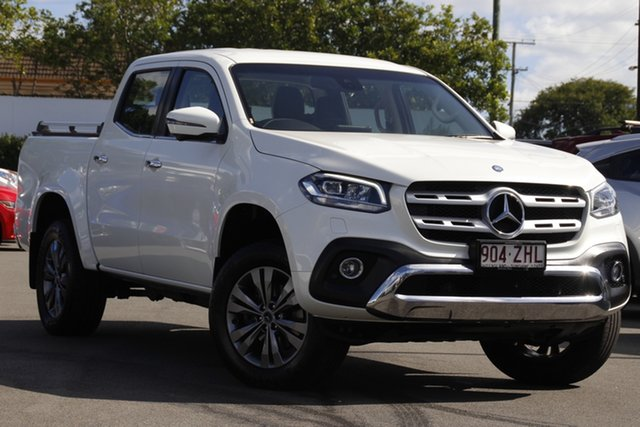 Used Mercedes-Benz X-Class 470 X250d 4MATIC Power Mount Gravatt, 2019 Mercedes-Benz X-Class 470 X250d 4MATIC Power White 7 Speed Sports Automatic Utility