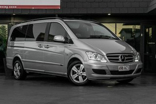 2012 Mercedes-Benz Viano 639 MY12 BlueEFFICIENCY Silver 5 Speed Automatic Wagon