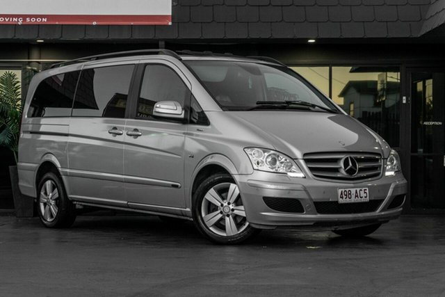 Used Mercedes-Benz Viano 639 MY12 BlueEFFICIENCY Bowen Hills, 2012 Mercedes-Benz Viano 639 MY12 BlueEFFICIENCY Silver 5 Speed Automatic Wagon