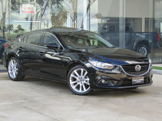 2014 Mazda 6 GJ1031 Atenza SKYACTIV-Drive Black 6 Speed Sports Automatic Sedan